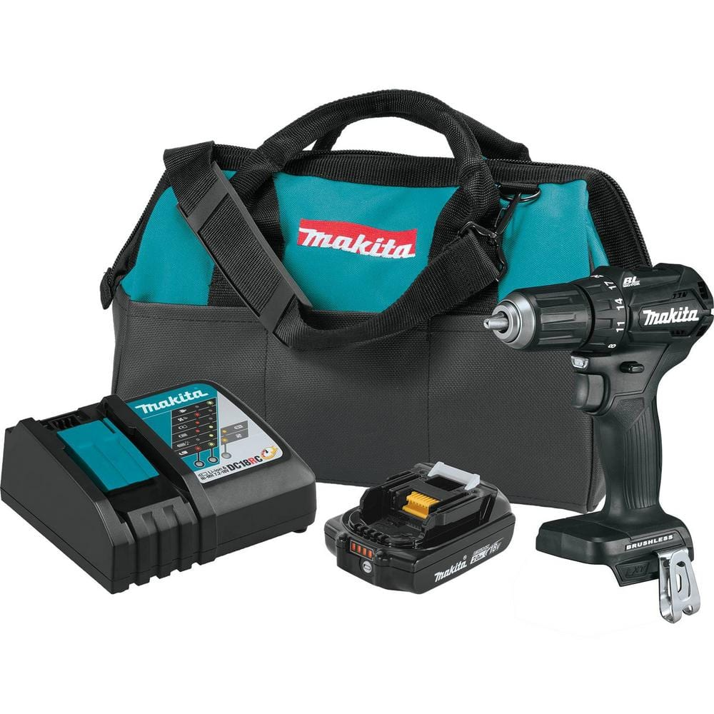 Makita Driver with battery and bag on clearance $83 at Home Depot B&M