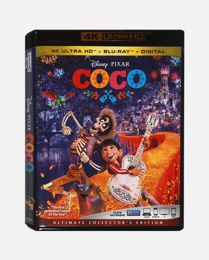 Disney movie insiders: Coco 4k combo pack + digital 1100 DMI points