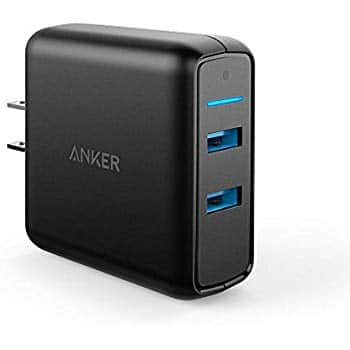 Anker Quick Charge 3.0 39W Dual USB Wall Charger, PowerPort Speed 2 $17.98 free shipping w/prime