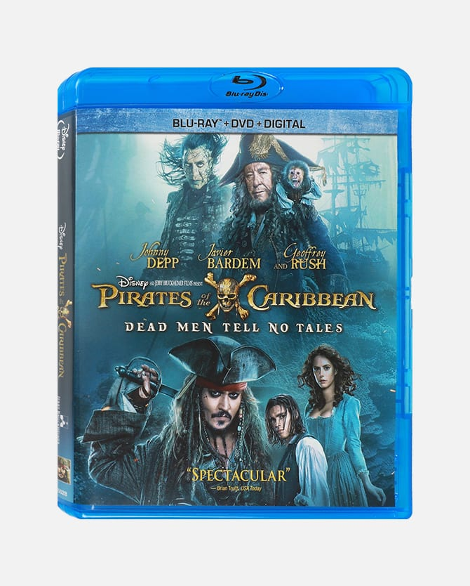 Disney movie insiders: Pirates Of The Caribbean: Dead Men Tell No Tales Blu-ray Combo Pack + Digital Copy 600 points