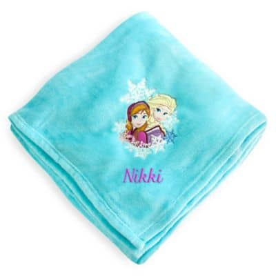 Personalized Disney Blankets for $11 Free Ship on $75 or more