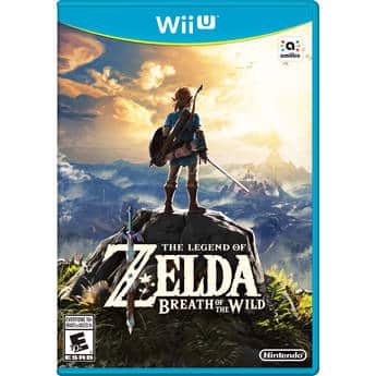 The Legend of Zelda: Breath of the Wild - Wii U - Disc NEW $42.44