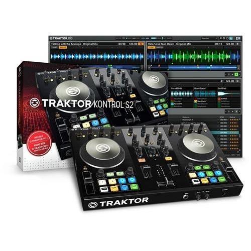 Native Instruments TRAKTOR KONTROL S2 MK2, No Tax, Free Shipping $329.99