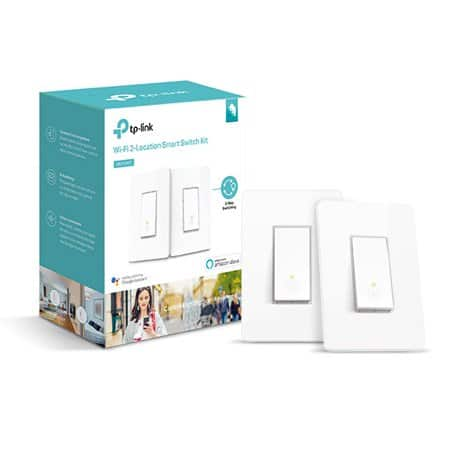 YMMV TP-LINK Smart Wi-Fi Light Switch 3-Way Kit -White (HS210 KIT) $30- 2pk