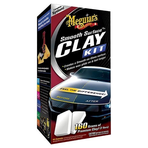 Meguiar's Smooth Surface Clay Kit 16-oz. $11.39