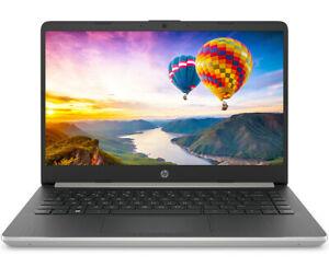 "HP 14"" Intel Core i5-1035G4 3.70GHz 10th Gen 128GB SSD 4GB RAM Win 10 Silver FREE SHIPPING $299.99"