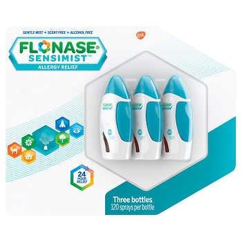 Flonase Sensimist Allergy Relief, 3 Bottles $38.99