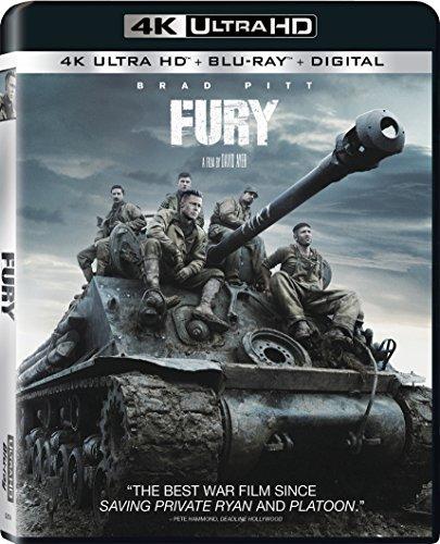 Fury 4K Movie - $15
