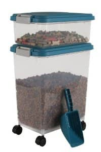 IRIS Airtight Pet Food Container Combo Kit (Blue Moon/Gray) $12.60
