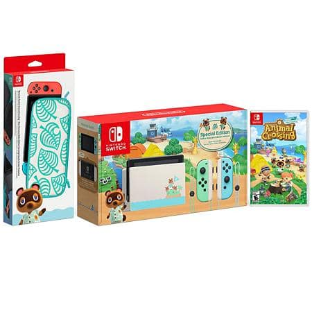 Animal Crossing Nintendo Switch Edition with Game and Case $378.98 + Shipping Cost