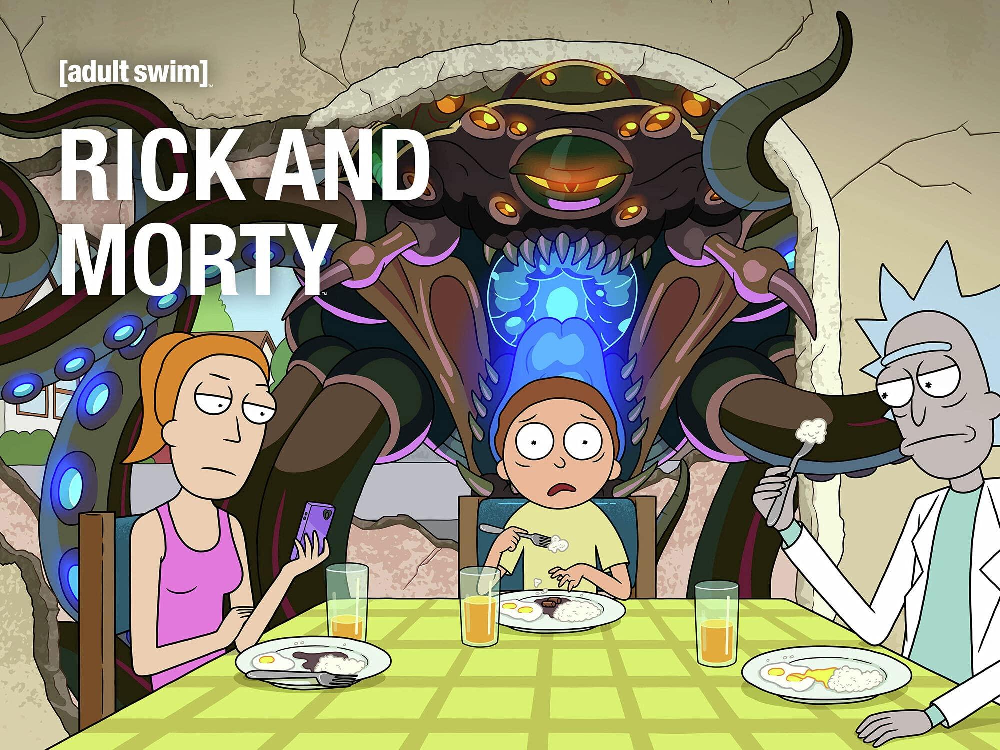 Rick and Morty Season 5 HD $15 @ Amazon $14.99
