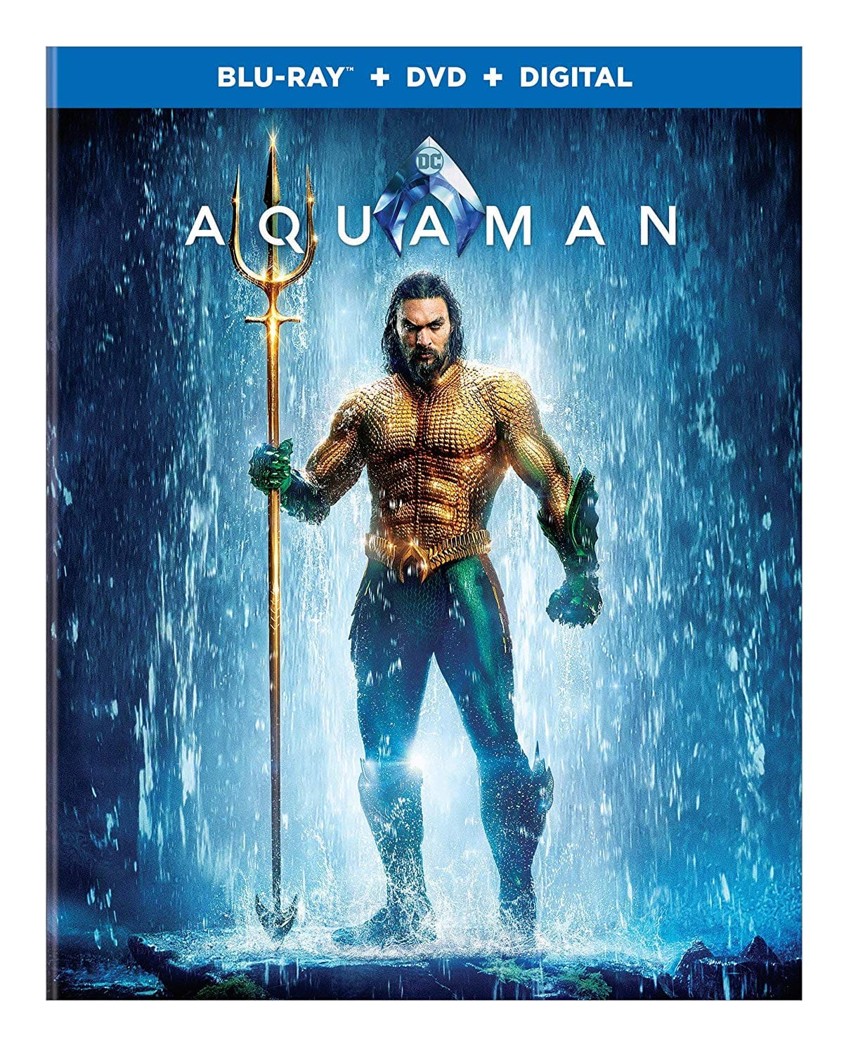 Aquaman Blu-ray $15 @ Amazon
