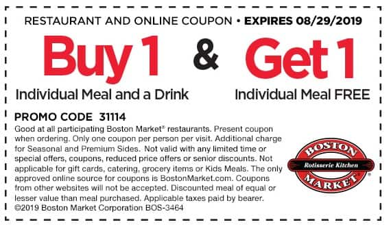 buy 1 get 1 free coupons