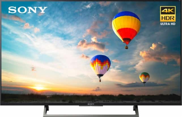 """Sony - 55"""" Class (54.6"""" Diag.) - LED - 2160p - Smart - 4K Ultra HD TV with High Dynamic Range for $900"""