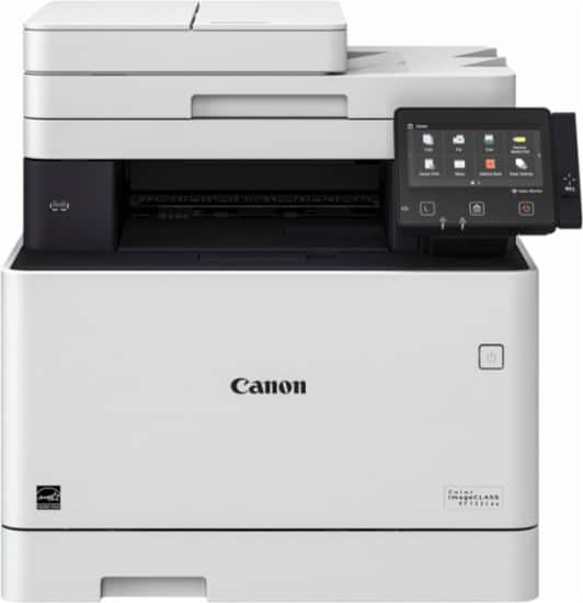 Canon - Color imageCLASS MF733Cdw Wireless Color All-In-One Printer $285