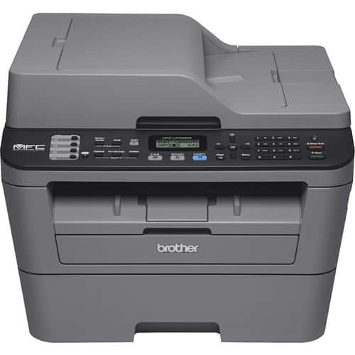 Brother - MFC-L2700DW Wireless Black-and-White All-in-One Laser Printer - Gray for $120