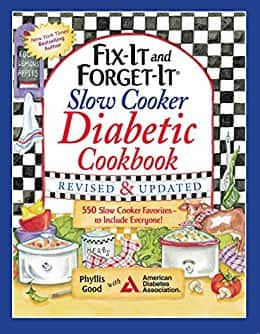 Kindle Edition - Fix-It and Forget-It Slow Cooker Diabetic Cookbook: 550 Slow Cooker Favorites $2
