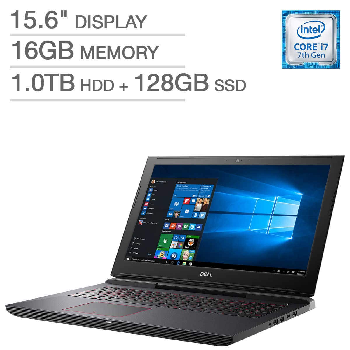 Dell Inspiron 15 7000 Series Gaming Laptop $999
