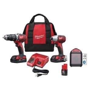 $194.00 and free shipping- Milwaukee M18 18-Volt Lithium-Ion Cordless Combo Kit with M12 Bluetooth Speaker and Battery (3-Tool)