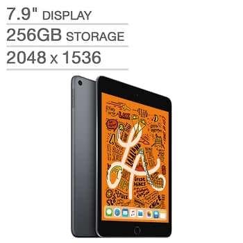 Apple iPad mini - A12 Chip - 256GB - Latest Model - $489