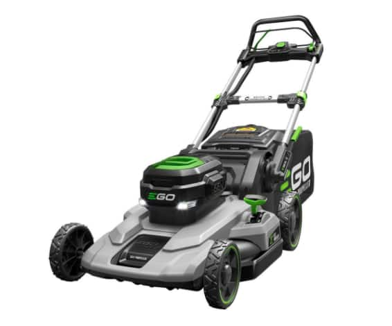 EGO 21 in. 56-Volt Lithium-ion Cordless Battery Self Propelled Mower with 7.5Ah Battery and Charger Included - $499 In-Store Only @ HD