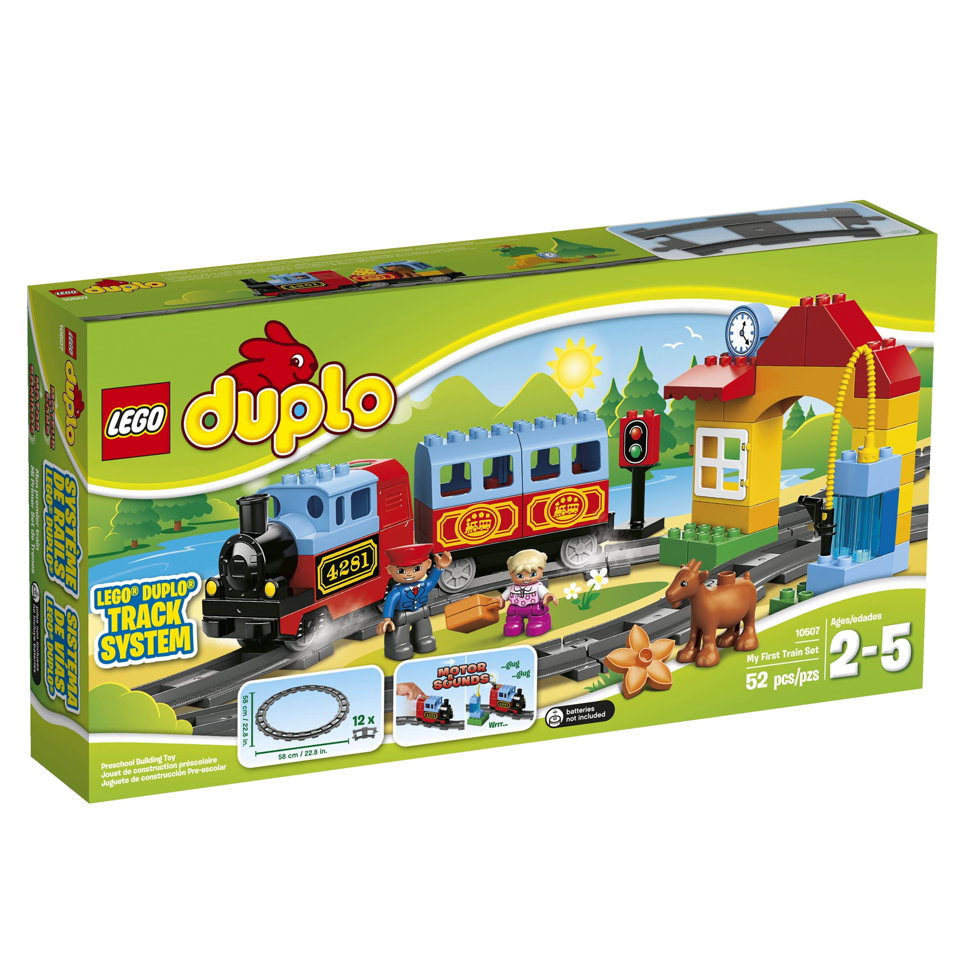 Amazon and Walmart Lego Duplo My First Train Set for $29.48 or town airport for $13.19 or my first farm for $12.39 and more