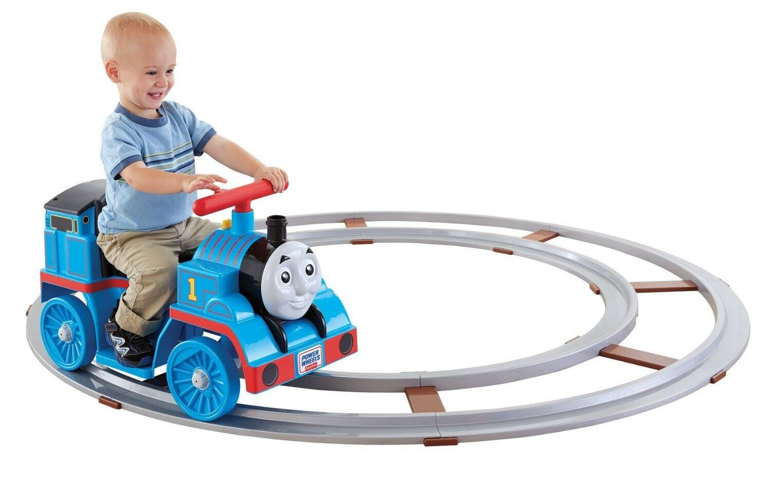 Amazon prime day : Fisher-price Power Wheels Thomas the Train Thomas with Track [Amazon Exclusive] for $89.99 plus taxes