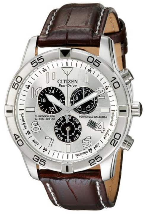 Amazon prime deal : Citizen Men's BL5470-06A Stainless Steel Eco-Drive Watch with Leather Band for $139.64 plus taxes with free shipping