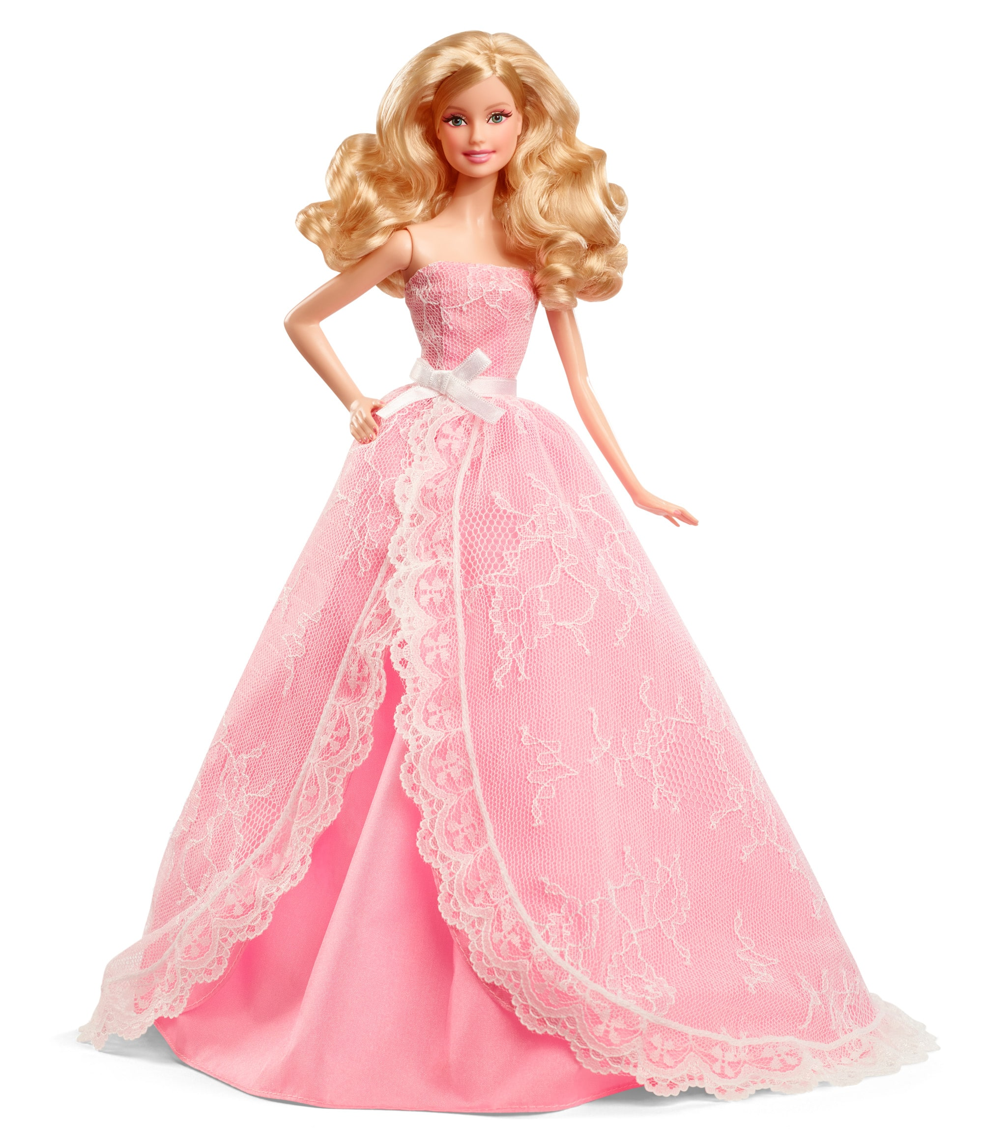 Barbie Collector 2016 Birthday Wishes Doll for $14.98 at Amazon or 2015 model for $14.98 at Target