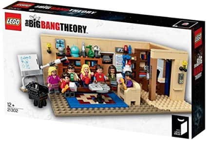 Amazon and Walmart : LEGO Ideas The Big Bang Theory 21302 Building Kit for $42.99