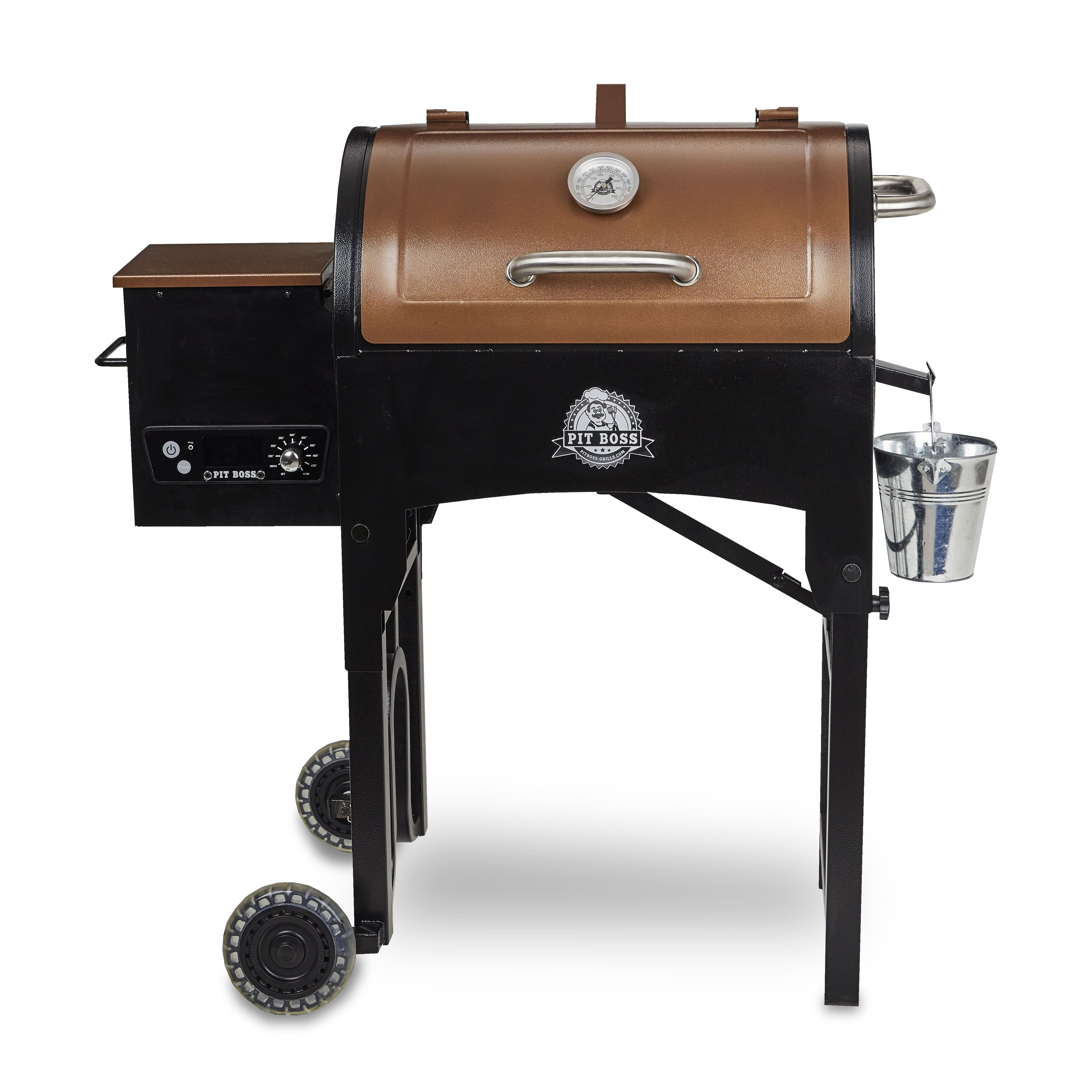 Pit Boss 340 Sq. In. Portable Tailgate, Camp Pellet Grill with Folding Legs – Walmart Inventory Checker – BrickSeek $154