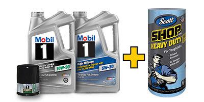 Mobil 1 oil filter 13 w rebate free scotts shop for Mobil motor oil rebate
