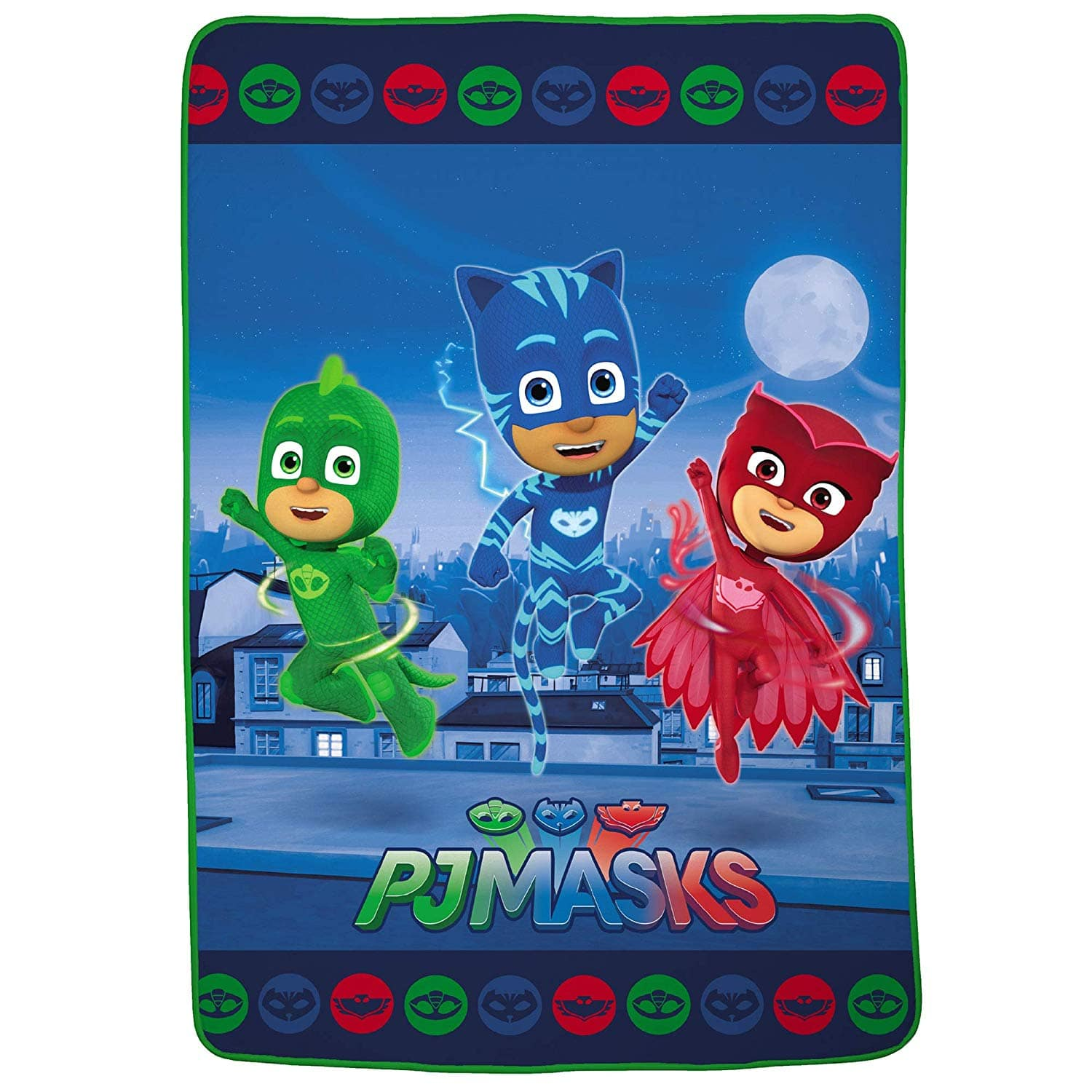 """PJ Masks Super Soft Plush Blanket Twin/Full Size 62"""" x 90"""" $13.49 with F/S with Amazon Prime or Target Circle"""