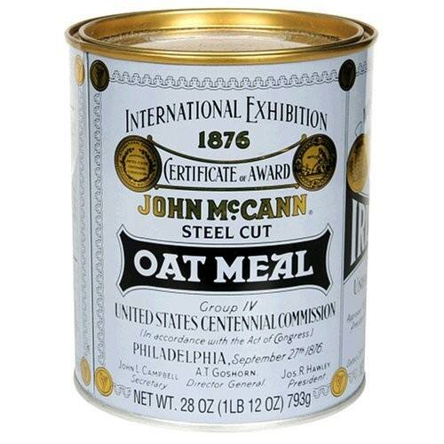 Mccann's Steel Cut Oatmeal, 28-Ounce Tin (Pack of 4) $20.72
