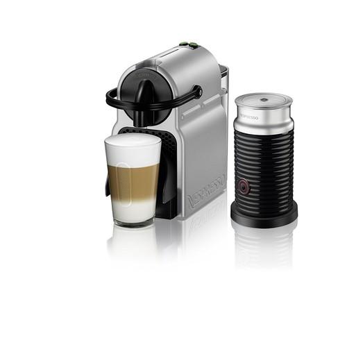 Amazon ($93): With Aeroccino-Nespresso Inissia Espresso Machine by De'Longhi, Silver $92.99