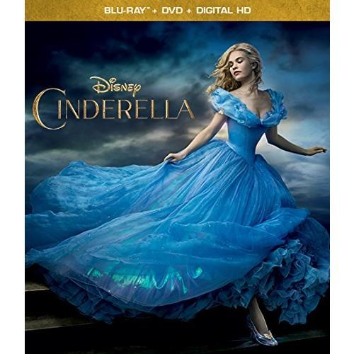 Amazon: $9.99 - Cinderella Multi-Format: DVD + Digital Copy + Blu-ray