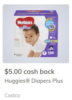Save up to $10 on Huggies Plus diapers at Costco