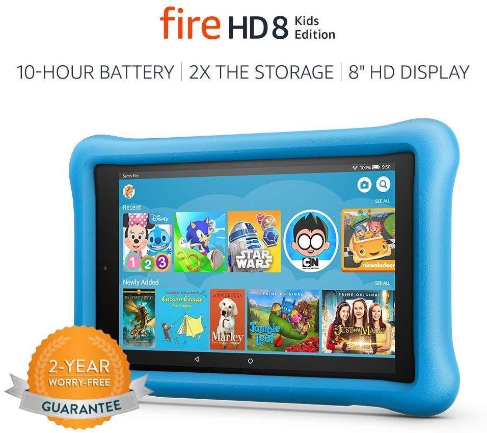 "Fire HD 8 Kids Edition Tablet, 8"" HD Display, 32 GB - $79.99 on Amazon"