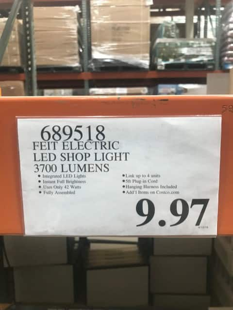 Feit Electric 4 Feet Led Shop Light At Costco Bm Ymmv 9 97 Lavahotdeals Com