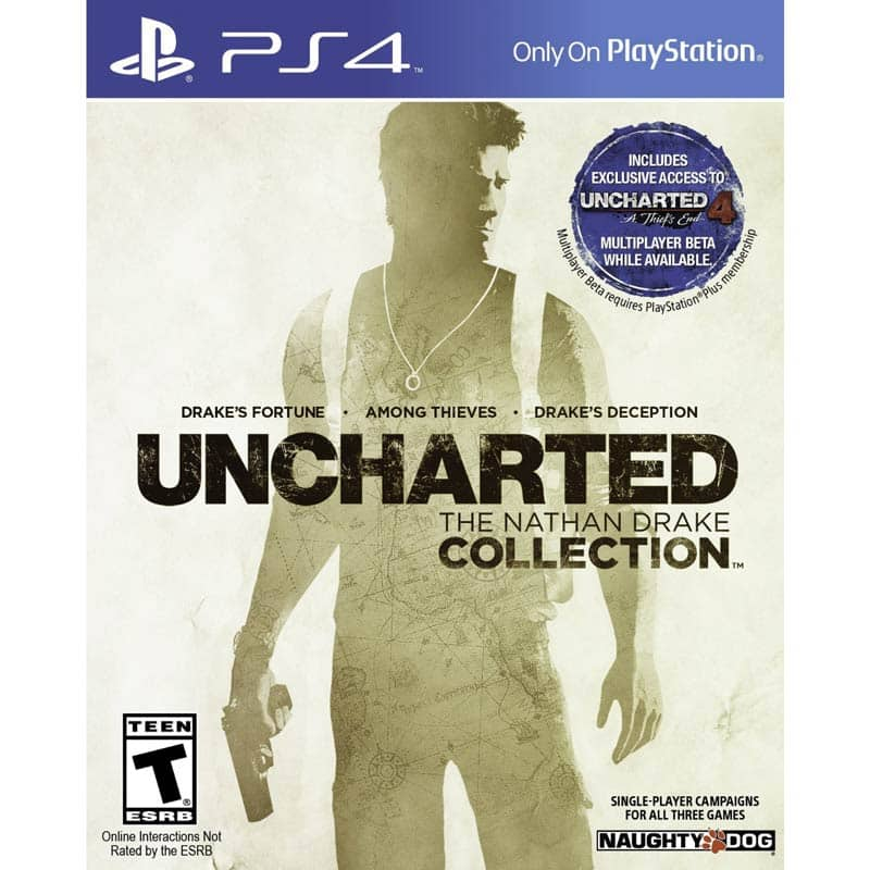 UNCHARTED: The Nathan Drake Collection - Playstation 4 $9.99