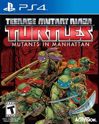 Ninja Turtles for ps 4 at Amazon for $17.22+tax and free shipping with prime