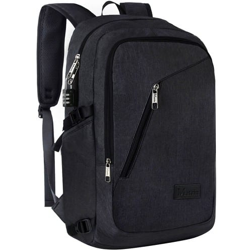 Travel Laptop Backpack with USB Port and Laptop Compartment $20.99+Free Shipping