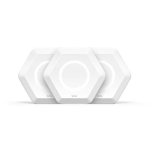 Luma Whole Home Mesh WiFi (3 Pack - White) - Replaces WiFi Extenders and Routers $156.96