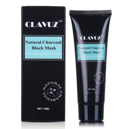 CLAVUZ Blackhead Remover Black Mask, Charcoal Purifying Peel Off Deep Cleansing Face Mask $5.99