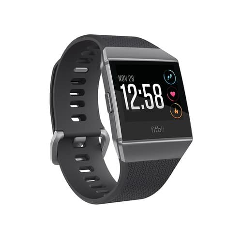 Fitbit Ionic Smartwatch, Charcoal/Smoke Gray, One Size (S & L Bands Included) $269.99