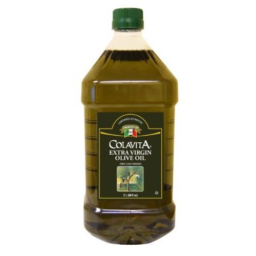Colavita Extra Virgin Olive Oil, 2 liters [68oz] $15.89 plus taxes $15.86