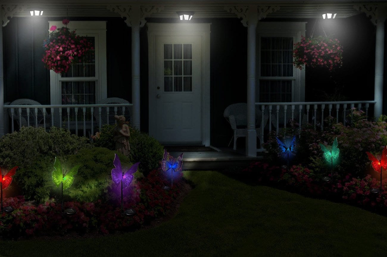 Solarmks Garden Solar Lights Outdoor Decorative Stake Lights - $13.68