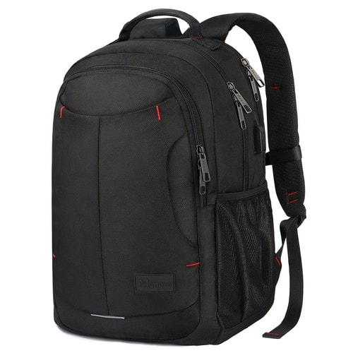 Laptop Backpack Travel School Bag with USB charging Port for 15.6-Inch Laptop $19.99 + Free Shipping