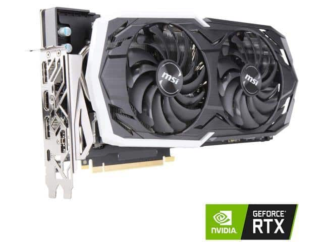 MSI GeForce RTX 2070 ARMOR 8G OCV1 $409.99 after MIR