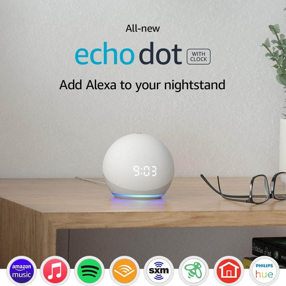 All-new Echo Dot (4th Gen) with clock $38.99 - LIVE + Extra 25% off with trade in and save brings it to $29.24.